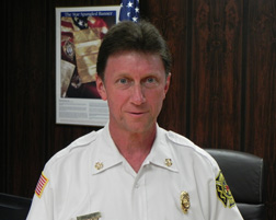 Fire Chief John Beatsch